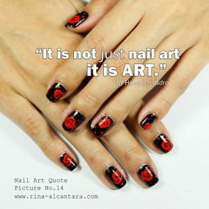 Nail Art Quote Picture...