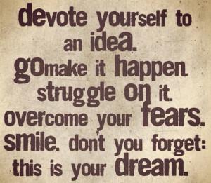 quote dream