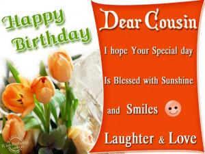 happy birthday cousin quotes funny | ... Cousin Wishbirthday - happy ...