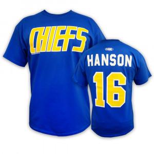 16 HANSON Charlestown CHIEFS T-shirt