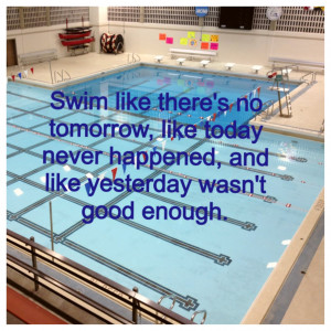 Inspirational Swimming Quotes Friday's quotes - swimming
