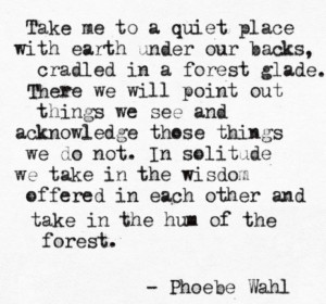 in the hum of the forest . . . Poems Quotes, Nature Quotes, Quotes ...