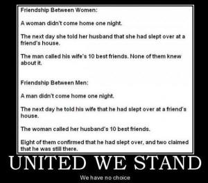 Funny Joke: Girls Night Out Funny Joke: United We Stand Funny Joke ...