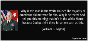 Why is this man in the White House? The majority of Americans did not ...