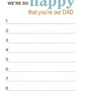 ... Day Quote and Fill in the Blank Printables {Father's Day Quotes