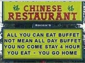 Chinese Restaurant . . . .