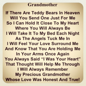 Poem for MaMaw