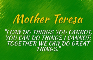 ... do things you cannot you can do things i cannot together we can do