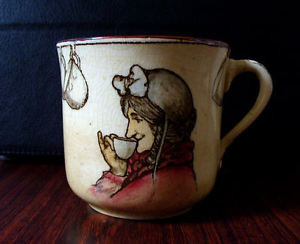 Vintage-Royal-Doulton-Tea-Time-Sayings-cup-the-best-of-men-Rare