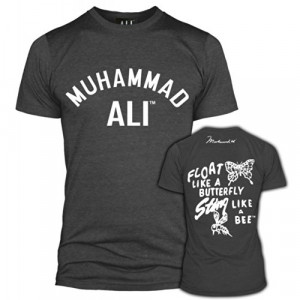 Muhammad Ali Clothing Float Like A Butterfly Sting Like A Bee T-shirt ...