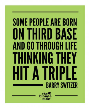 Barry Switzer, #sports #quotes - TheBlondeSide.com