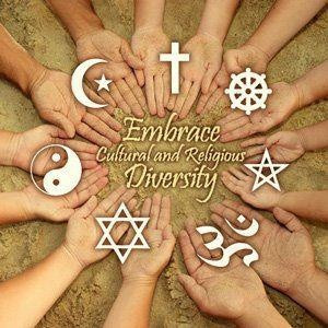 Embrace cultural and religious diversity