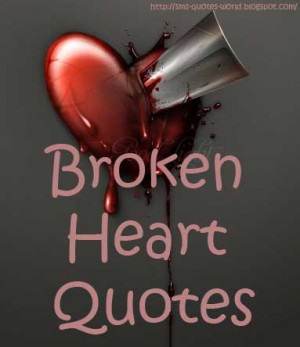 inspirational quotes about broken hearts quotesgram