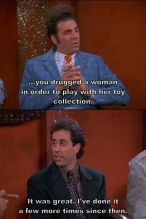 Seinfeld Kramer & the Merv Griffin show