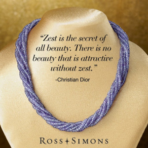 "... Zest.""-Christian Dior. >> Click on the quote to browse Ross-Simons"