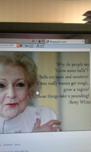 Leave it to Betty White...