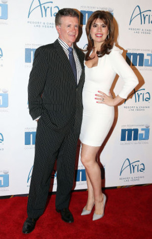 Alan Thicke And His Wife...