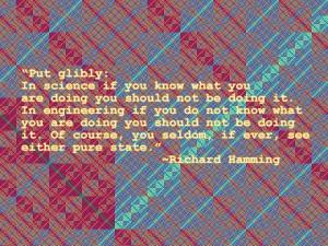 Engineering Quote of the Week - Richard Hamming