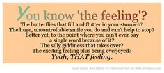 feeling plus being overjoyed yeah that feeling witty profiles quote ...