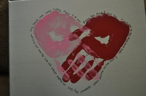 Handprint Quotes About Love http://www.pinterest.com/pin ...