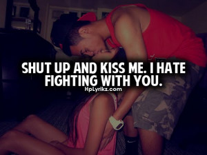 really do hate fighting with the one i love my boyfriend it sucks ...