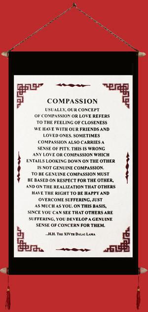 Dalai Lama's Quote on Compassion