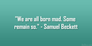 Samuel Beckett Quote