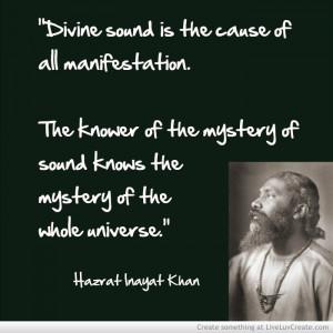 Adironnda Hazrat Inayat Khan 1 Sound