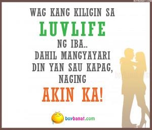 Tagalog Quotes Jokes 2011 Love