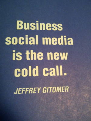 ... children have social media in their DNA. Thank you Jeffrey Gitomer