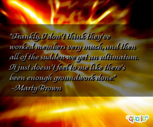Ultimatum Quotes
