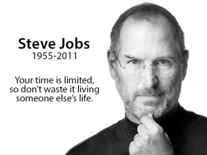 Quote from Steve Jobs Stanford University speech