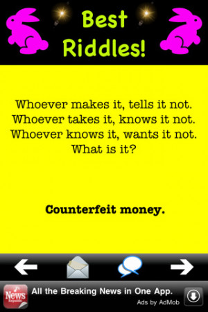 best riddles quotes