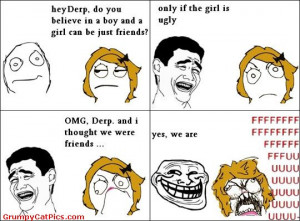 Why Boys And Girls Are Sometimes Friends Funny Meme Comics Picture