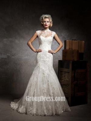 Vintage Lace Mermaid Wedding Dresses