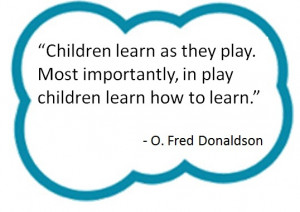 Fred pioneered the study of Original Play..