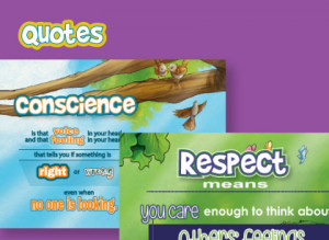 Positive quotes for kids about good character traits