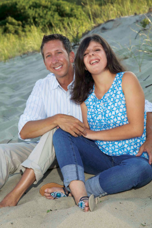 Carly and her Father Arthur Fleischmann