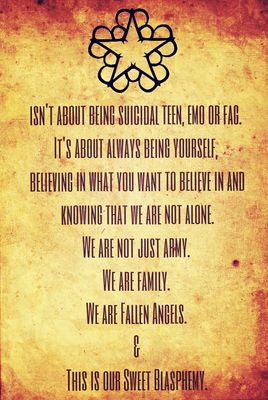 Black Veil Brides BVBV Quotes