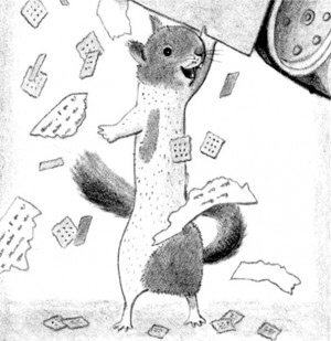 screenplays showing the action and what the squirrel was thinking