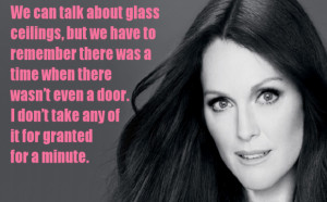 Julianne Moore on Helping Other Women