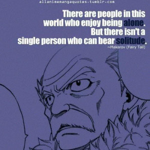 ... tags for this image include: anime, quotes, fairy tail and makarov