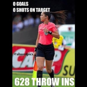 ... distraction to soccer #soccer #futebol #football #referee #sideline