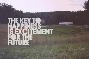 cute, future, happy, quote