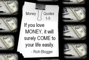 Money Quotes and Money Sayings 1-5