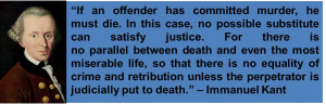 feel that the Pro-Death Penalty Quotes website is moreconvincing.