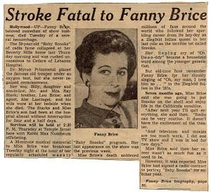 Fanny Brice in The Great Ziegfeld (1936)