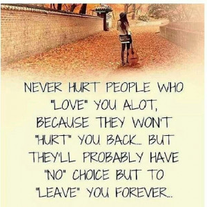 People, don't take my Love for granted♥