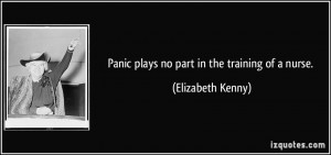 More Elizabeth Kenny Quotes
