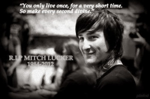 Mitch Lucker. «The dead are living...»